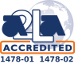 We are an A2LA Accredited test laboratory.